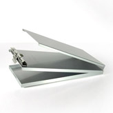 LAH5795 Style A Aluminum Ticket Holder 5 2/3 X9.5