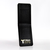 LFC24R Leather Cloth Black Carrying Case 3 1/4 x 4 7/8