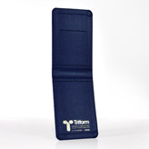 LGP24BL Leather Cloth Blue Carrying Case 3 1/2 x 5