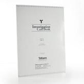 LTCB-11NP Investigator's Case Book 8.25 X 11