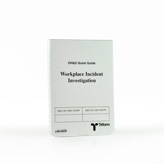 LWII-06ON Ontario Workplace Incident Notebook 3.5 X 5